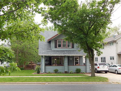 Fort Atkinson Single Family Home For Sale: 318 E Sherman Ave
