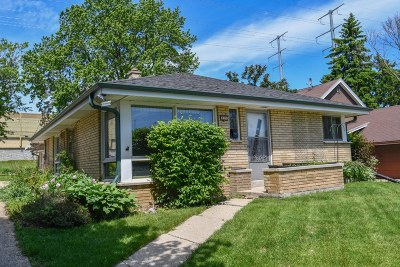 West Allis Single Family Home Active Contingent With Offer: 829 S 98th St