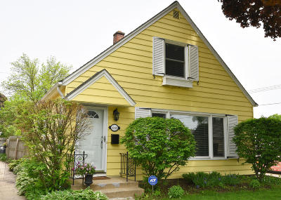 Whitefish Bay Single Family Home Active Contingent With Offer: 4826 N Diversey Blvd