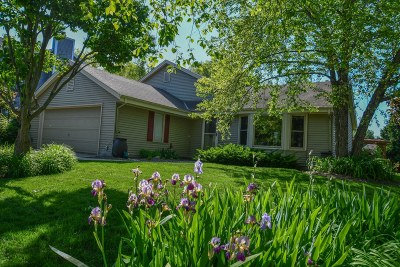 Waukesha Single Family Home Active Contingent With Offer: 2737 Oakcrest Dr