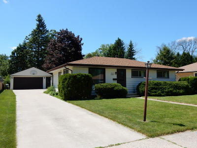 Menomonee Falls Single Family Home Active Contingent With Offer: W170n8427 Lloyd Ave