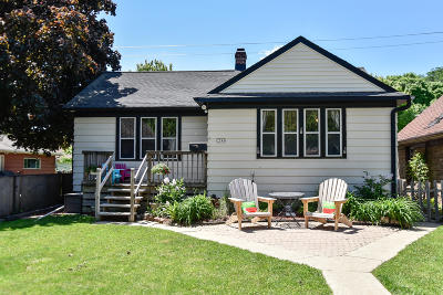 Wauwatosa Single Family Home Active Contingent With Offer: 2549 N 63rd St