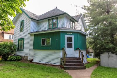 Single Family Home For Sale: 610 N Main St