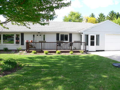 Howards Grove Single Family Home Active Contingent With Offer: 712 Armstrong Ave.