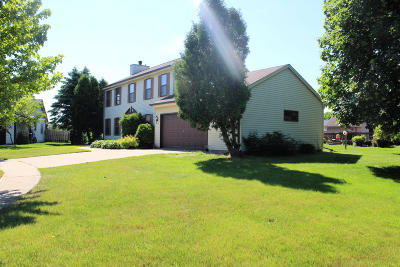 Jackson Single Family Home Active Contingent With Offer: N171w19861 Cherry Hill Ct