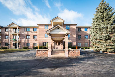 West Bend Condo/Townhouse Active Contingent With Offer: 530 N Silverbrook Dr #126