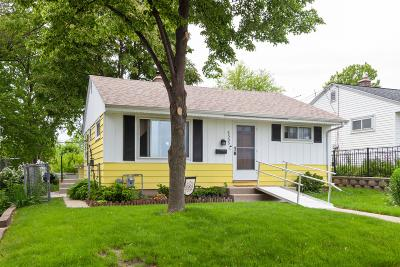 Milwaukee Single Family Home Active Contingent With Offer: 4555 S Logan Ave