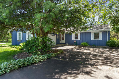 Elkhorn Single Family Home Active Contingent With Offer: W5563 Cool Hill Dr
