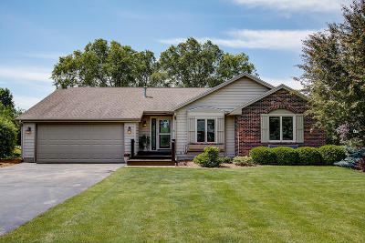 Elkhorn Single Family Home Active Contingent With Offer: N6029 Balsam Dr