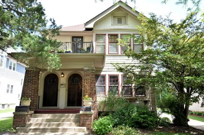 Wauwatosa Two Family Home Active Contingent With Offer: 6506 Milwaukee Ave #6508