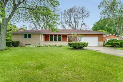 Kenosha Single Family Home For Sale: 3215 18th St