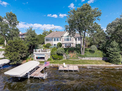 Nashotah Single Family Home Active Contingent With Offer: W334n5995 Road M