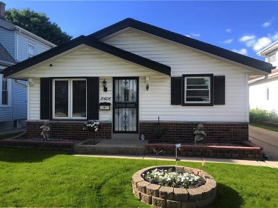 West Allis Single Family Home Active Contingent With Offer: 8606 W McMyron St
