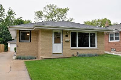 West Allis Single Family Home Active Contingent With Offer: 1115 S 102nd St