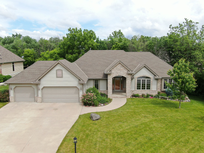 New Berlin Single Family Home Active Contingent With Offer: 3495 S Highpointe Dr