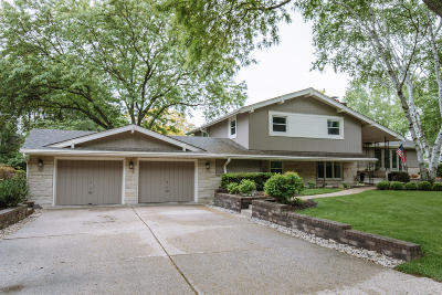 Single Family Home Active Contingent With Offer: 3409 N Menomonee River Pkwy