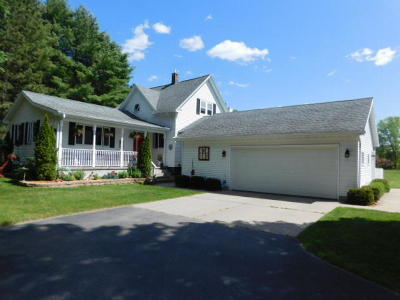 Marinette Single Family Home Active Contingent With Offer: W713 Rader Rd