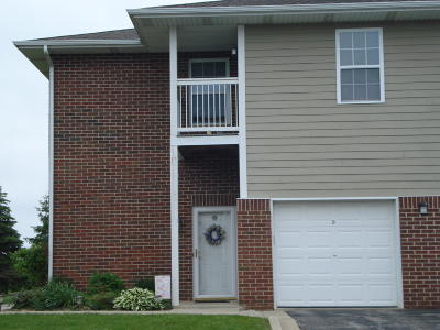 Pleasant Prairie WI Condo/Townhouse For Sale: $165,000