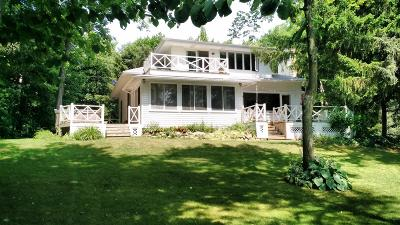 Hartland Single Family Home For Sale: N64w31243 Beaver Lake Rd
