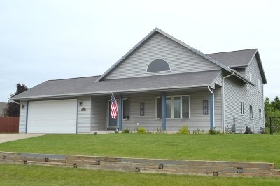 Racine Single Family Home Active Contingent With Offer: 3204 Pleasant View Cir