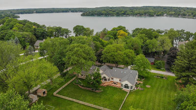 Hartland Single Family Home For Sale: N57w30643 Stevens Rd