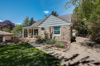 Wauwatosa Single Family Home Active Contingent With Offer: 10148 W Highwood Ave