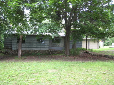 Elkhorn Single Family Home For Sale: W3952 County Rd Es
