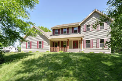Racine County Single Family Home Active Contingent With Offer: 7833 County Rd V