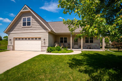 West Bend Single Family Home Active Contingent With Offer: 306 Richards Pl