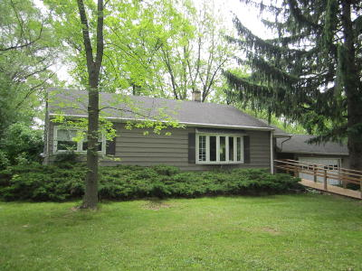 Menomonee Falls Single Family Home For Sale: W140n8548 Lilly Rd