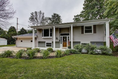 West Bend Single Family Home Active Contingent With Offer: 1517 W Oak St