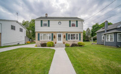 Hartford Single Family Home Active Contingent With Offer: 547 Center St