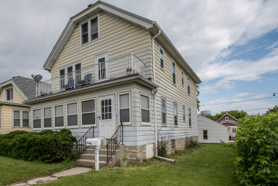 South Milwaukee Two Family Home Active Contingent With Offer: 1216 Minnesota Ave
