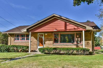 Single Family Home Active Contingent With Offer: 10604 W Burleigh St