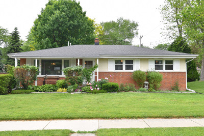 Menomonee Falls Single Family Home Active Contingent With Offer: W172n8489 Shady Ln