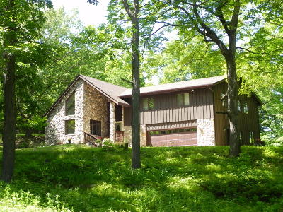 West Bend, Town Of West, Town Of Trenton Single Family Home For Sale: 994 Wallace Lake Rd