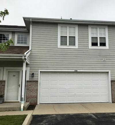 Pleasant Prairie WI Condo/Townhouse Active Contingent With Offer: $187,900