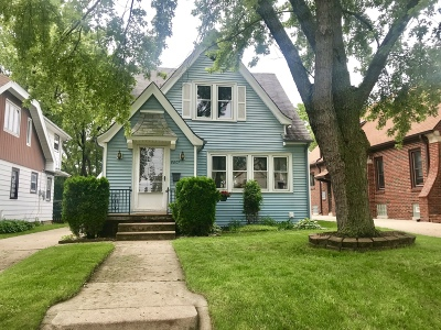 West Allis Single Family Home Active Contingent With Offer: 8807 W Orchard St