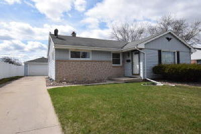 Single Family Home For Sale: 6539 N 84th St