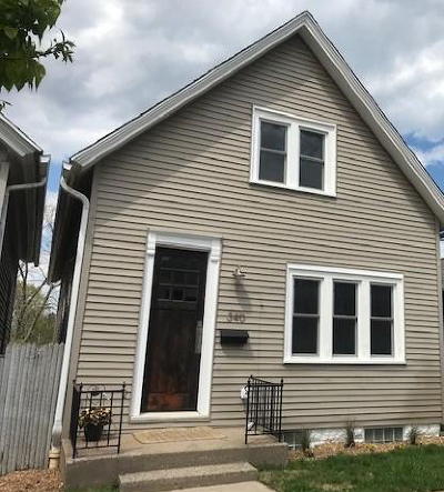 Milwaukee Single Family Home Active Contingent With Offer: 340 E Dewey Pl