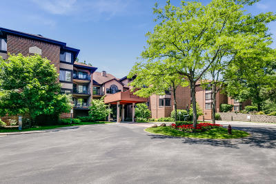 Glendale Condo/Townhouse Active Contingent With Offer: 1600 W Green Tree Rd #308
