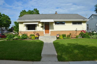 Milwaukee Single Family Home Active Contingent With Offer: 2800 S 69th St
