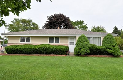 Single Family Home Active Contingent With Offer: 4382 S 48th St