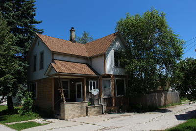 Sheboygan Single Family Home For Sale: 617 N 14th St