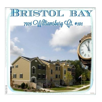 Bristol Condo/Townhouse For Sale: 7926 Williamsburg Ct #101