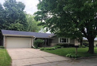 Racine Single Family Home Active Contingent With Offer: 134 Sheffield