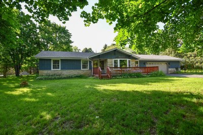Nashotah Single Family Home Active Contingent With Offer: W330n5419 Linden Cir E