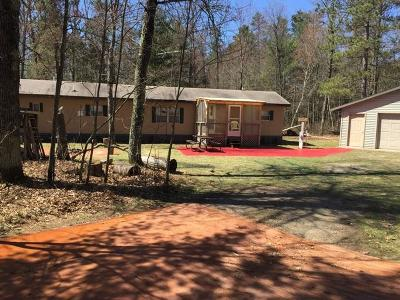 Single Family Home For Sale: W13183 White Pine Ln