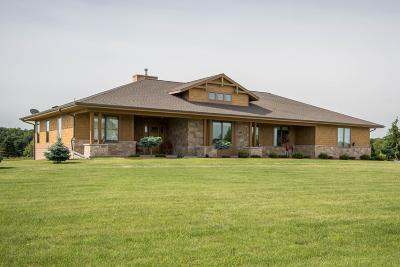 Mukwonago Single Family Home For Sale: W1297 County Rd Tk J