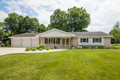 Waukesha County Single Family Home Active Contingent With Offer: N55w21331 Logan Dr